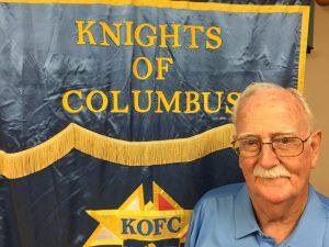 Deputy Grand Knight Bob Albertson