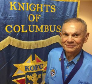 Grand Knight Tony Bubbico