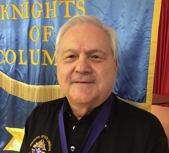 Deputy Grand Knight Bob Budd