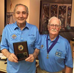 Bob Bonney and GK Bob Albertson